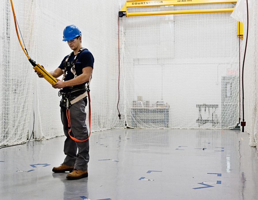 Safety / debris netting