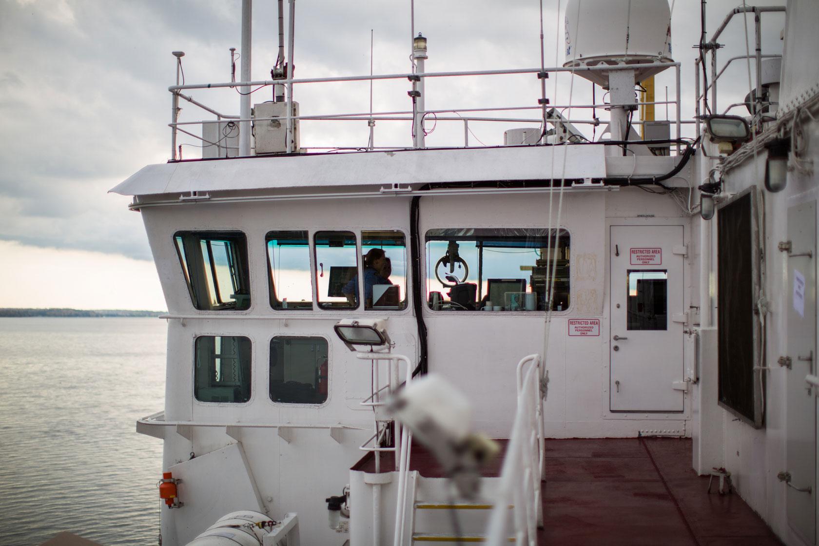 Système de protection contre les chutes pour la guarde côtière canadienne