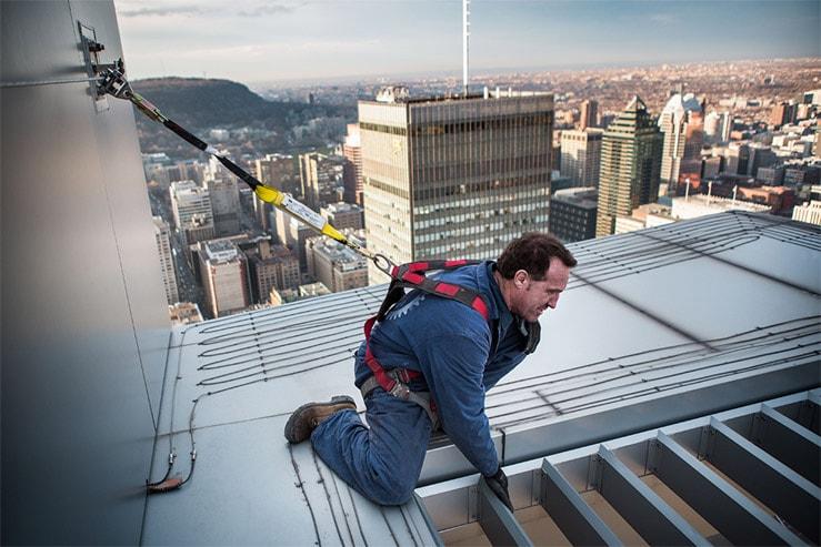 formation sur l'utilisation d'équipement de sécurité en construction